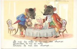Le Rat De Ville Et Le Rat Des Champs - Illustrateur MAUZAN - Mauzan, L.A.