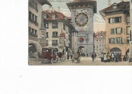 BERN - Zeitglockenturn. Belle Animation, CPA Ayant Circulé En 1913. BE. - BE Berne