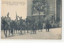 75 - Paris - 14 Juillet 1919  Fête De La Victoire Défilé  Délégation Chinoise - Militaire  Militaria - Zonder Classificatie