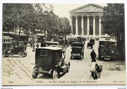 CPA - 75.Paris. Rue Royale Et L'église De La Madeleine - District 08