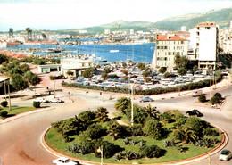 5587 Carte Postale TOULON Le Rond Point Bonaparte Vue Sur Le Port            (scan Recto Verso)   83 Var - Toulon
