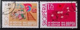 Albanie 1976 / Yvert N°1680-1681 / Used - Albanië