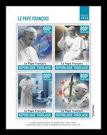 Togo 2020 Mih. 12040/43 Pope Francis Prayer For Protection From COVID-19 Coronavirus MNH ** - Togo (1960-...)