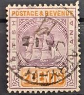 BRITISH GUIANA 1889 - Canceled - Sc# 132 - 2c - Britisch-Guayana (...-1966)