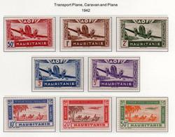 Mauritanie YT PA 10-17 Neuf Sans Charnière - XX - MNH - Nuevos