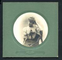 Photo Originale XIX ème - Femme Chemise Dentelle époque - J.DE PARADA / BORDEAUX. Old CABINET Photo FRANCE - Old (before 1900)