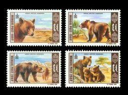 Mongolia 1998 Mih. 2777/80 Fauna. Gobi Bears MNH ** - Mongolie