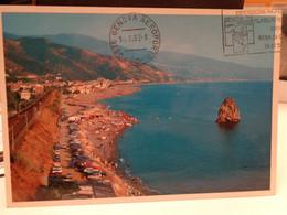 Cartolina Guardia Piemontese Prov Cosenza La Spiaggia - Cosenza