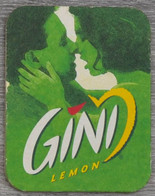 Sous-bock GINI Lemon (homme Femme) Bierdeckel Bierviltje Coaster (V) - Portavasos