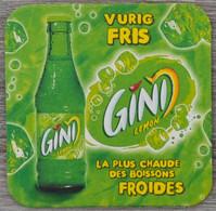 Sous-bock GINI Lemon La Plus Chaude Des Boissons Froides Vurig Fris Bierdeckel Bierviltje Coaster (N) - Portavasos