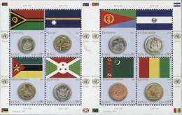 United Nations 2015 Vereinte Nationen Coins Flags - VIII National Symbols Banking Currency 24v MNH** 38,00 € - Gezamelijke Uitgaven New York/Genève/Wenen
