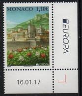 Monaco  2017.  Europa - CEPT. Castles.. MNH - Unused Stamps