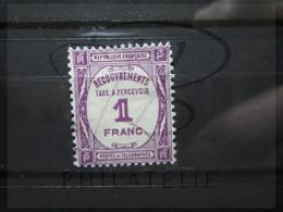 VEND BEAU TIMBRE TAXE DE FRANCE N° 59 !!! - 1859-1955 Used