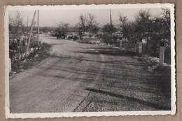 PHOTO 84 - LE MONT VENTOUX - Virage Course Automobile ? Dans La Montée - Vue VOITURE 1953 - Other Municipalities