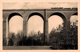 86 LUSIGNAN  3 CPA Le Viaduc (-20gr) - Lusignan