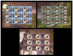 2006. Belarus. Bats. Mi. 634-36KB MNH ** - Belarus