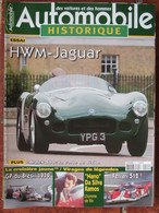 Revue Automobile Historique N°35 (mars 2004) HWM Jaguar - Ardex S80 6 Ferrari 512 - Auto/Moto