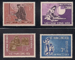 South Vietnam Viet Nam MNH Stamps 1966 - Scott#287-290 : Music / Musical Instruments - Vietnam