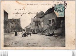 RIGNEY RUE DE LA GARE 1905 - Altri Comuni