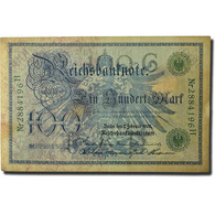 Billet, Allemagne, 100 Mark, 1908, 1908-02-07, KM:34, TTB - 100 Mark