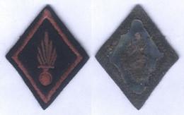 Insigne Losange De Bras De L'Infanterie Ancien Modèle - Patches