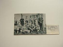 """Origineel Knipsel ( A 191 ) Uit Tijdschrift """" De Stad """"  1933 :  Voetbal   Elftal   Eendracht Aalst - Zonder Classificatie"""