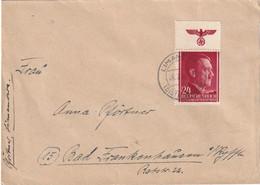ALLEMAGNE 1944 GENERAL GOUVERNEMENT LETTRE DE LIMANOWA - Occupation 1938-45