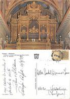 Pompei. Santuario. Tamburo E Cantona Dell'organo In Legno Dorato. Viaggiata 1977 - Sin Clasificación
