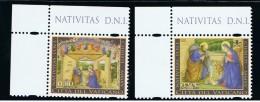2015 - VATICANO - S25F - SET OF 2 STAMPS ** - Unused Stamps
