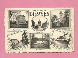 C.P. Braives =  Château Du VIA - Vieille Tour - Monument Christ Roi - Rie Di Cornichamp - Vieux Moulin - Place Du Carcan - Braives