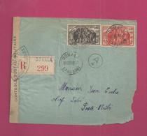 Lettre Recommandée Locale De 1940. YT N° 181 Et 183 - Storia Postale