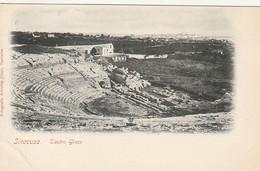 *** SICILIA ***     SIRACUSA  Teatro Greco   -unused TTB - Avant 1904 - Siracusa