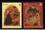 2011 - VATICANO - S22E - SET OF 2 STAMPS ** - Unused Stamps