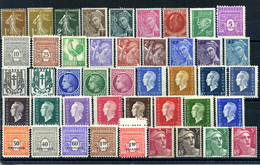 Lot France 1932 - 1945 44 Timbres Neufs - Sonstige