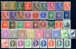 Lot France 1932 - 1945 45 Timbres Neufs - Sonstige