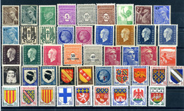 Lot France 1939 - 1959 46 Timbres Neufs - Sonstige