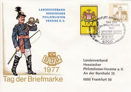 BRD, PU 108 C1/004b,  BuSchl. 30, Tag Der Briefmarke 1977, LV Hessen - Private Covers - Used