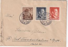ALLEMAGNE 1944 GENERAL GOUVERNEMENT LETTRE DE TARNOW - Occupation 1938-45