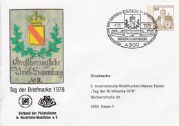 BRD, PU 108 C1/016a,  BuSchl. 30, Tag Der Briefmarke 1978, Verband NRW - Private Covers - Used