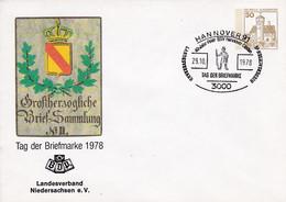 BRD, PU 108 C1/017,  BuSchl. 30, Tag Der Briefmarke 1978, LV Niedersachsen - Private Covers - Used
