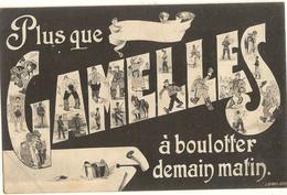 Militaria > Plus Que  ------- Gamelles à Boulotter Demain Matin  La Quille  241 - Andere