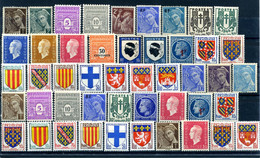 Lot France 1939 - 1959 47 Timbres Neufs - Sonstige