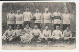 Périgueux Saint Joseph équipe De Rugby équipe Première 1907 1908 - Périgueux