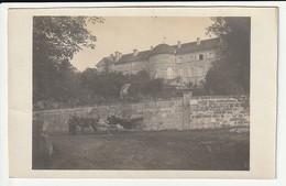 Carte Photo Château D'Escoire (rare) - Andere Gemeenten