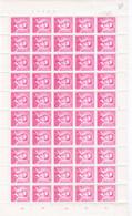 ** / MNH ROI BAUDOUIN Type MARCHAND PHOS LE 6 FR  à 10,90 - Full Sheets