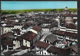 PIEMONTE - S. GERMANO VERCELLESE - PANORAMA - B/N COLORATA -  VIAGGIATA 1965 - Andere Steden