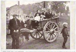 YPRES Yprois Fuyant La Ville  Grand Format 1915 - Unclassified