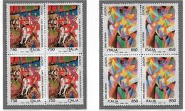 EUROPA , 1993 Serie In Quartina** - 1991-00: Neufs