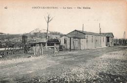 02 Coucy Le Chateau La Gare De Chemin De Fer Station - Non Classés