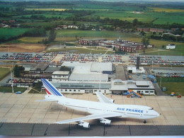 Avion / Airplane / AIR FRANCE / Boeing B 747  / Seen At Teesside Airport, UK - 1946-....: Era Moderna